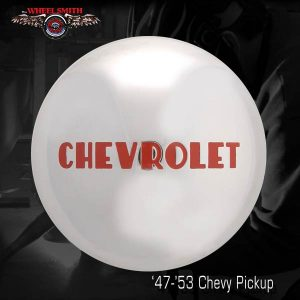 Wheelsmith 47-53 Chevy Pickup Wheel Hub Caps and Accessories