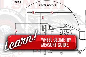 Wheelsmith Wheel measuring guide