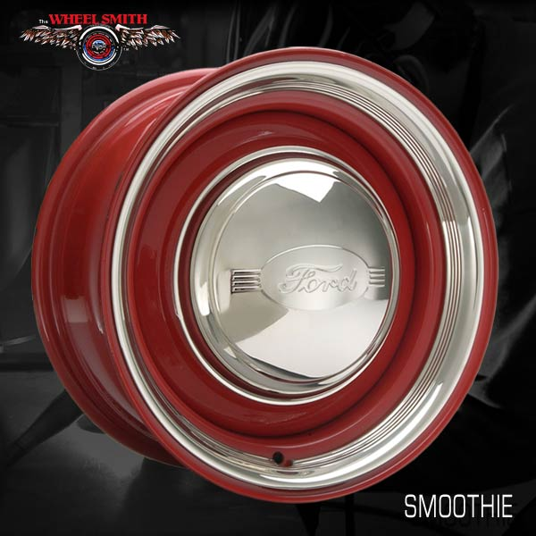 Ford F150 Accessories >> Classic Car Smoothie Style 2-Piece Steel Wheels