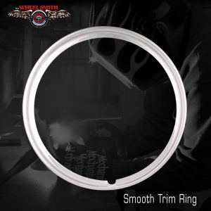 Wheelsmith Smooth Trim Ring for Wheel Hub Caps and Accessories